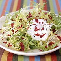 Frisees au Lardons Salad