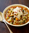 Image of Italian-Inspired Vegetable Barley Soup
