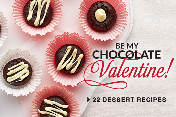 BE MY CHOCOLATE Valentine!