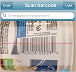 Weight Watchers Barcode Scanner
