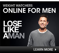 Weight Watcher Online for men lose like a man learn more