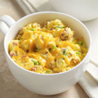 Bacon and Cheddar Egg Mug Scrambler