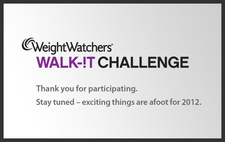 walk it challenge