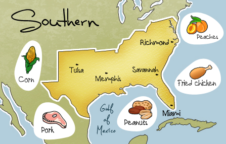 Cuisine intensive southern cooking for American regional cuisine history
