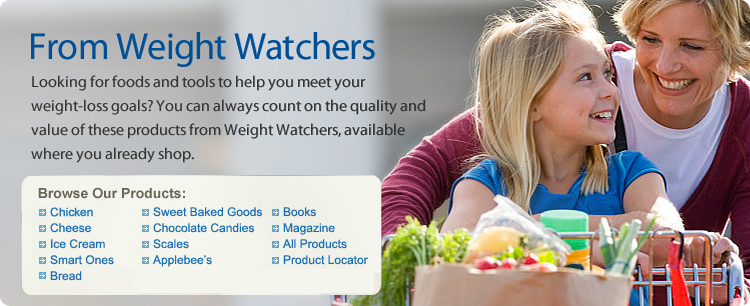 From Weight Watchers  Looking for foods and tools to help you meet your weight-loss goals? You can always count on the quality and value of these products from Weight Watchers, available where you already shop.