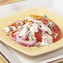Tomato Onion Blue Cheese