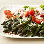 Balsamic Asparagus and Cherry Tomato Salad
