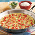 Roasted Red Pepper Frittata