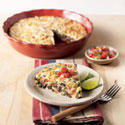 Tex-Mex Crustless Quiche