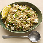 Bulgur Salad with Feta and Mint
