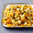 Butternut Squash and Yukon Gold Potatoes