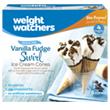 Vanilla Fudge Swirl Ice Cream Cones