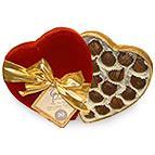 Heart Shaped box of Gayles Miracle Chocolates