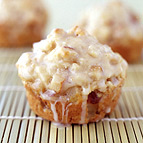 Glazed Pear Muffins