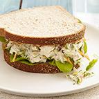 Lemon-Pepper Tuna Sandwiches
