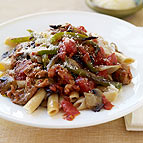 Penne with Chicken Sausage and Peppers
