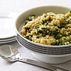 Quinoa and Spinach
