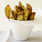 Roasted Herb Potato Wedges