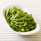Stir-Fried Asparagus and Sugar Snap Peas