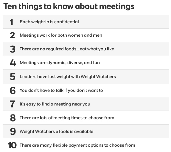 ten things you should know about meetings