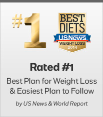 Rated #1 Best Plan for Weight Loss & Easiest Plan to Follow by US News & World Report