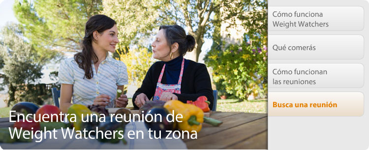Encuentre una reunión de Weight Watchers en su área