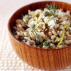 Warm Barley Salad
