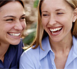 ladies laughing