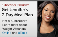 get jennifer's seven day meal plan