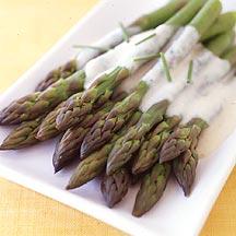 Bechamel Asparagus