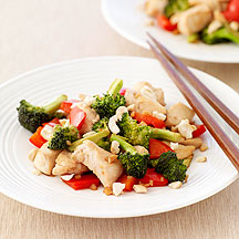 Image of chicken stir fry