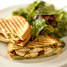 Panini Gourmet Sandwiches for Dinner