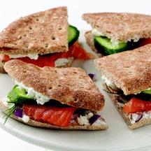 Smoked Salmon Tea Sandwiches