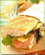 Grilled Ham Sandwich