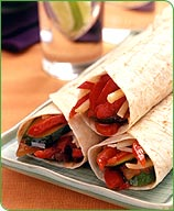 WeightWatchers.com: Weight Watchers Recipe - Garden Vegetable Wraps