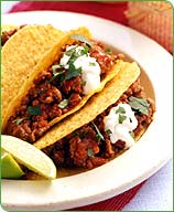 Chili Beef Tacos