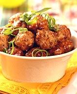 Spicy BBQ Meatballs