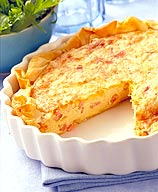 WeightWatchers.com: Weight Watchers Recipe - Bacon and Swiss Quiche