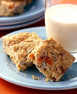 Oat and Apricot Breakfast Bars