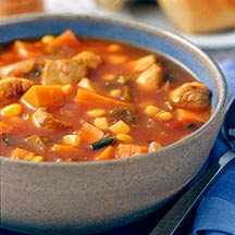 Southwestern Slow Cooker Chicken and Potato Soup