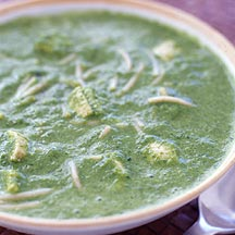 Tangy Spinach Florentine Soup
