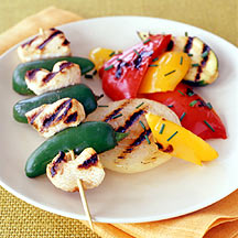 Cuban Chicken Skewers