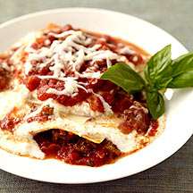 Image of slow cooker beef lasagna