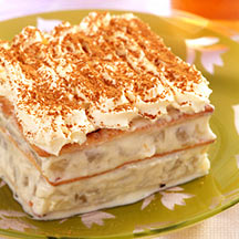 Chilled French Apple Dessert