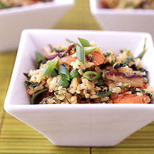 ... : Weight Watchers Recipe - Ginger and Scallion Stir Fried Brown Rice