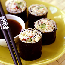 Brown Rice California Rolls