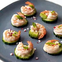 Image of  Shrimp & Avocado Appetizers