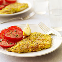 Pan Fried Flounder