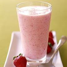 Strawberry Vanilla Shake
