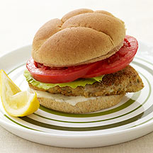 Image of a fish sandwich